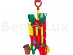 AL-KO Набор детский садового инвентаря 9 предметов, пластик, 112875