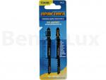 ПРАКТИКА 034-564 Пилки для лобзика по дереву, ДСП тип T244D 100 х 75 мм, грубый рез, HCS