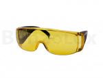 Champion Очки защитные с дужками желтые, C1008