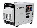 Генератор дизельный Hyundai DHY 8000SE-3 Автозапуск-опция