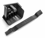 Комплект: заглушка BioClip+ нож BioClip для Husqvarna LC 153P/153S (9679885-01 / 9679886-01), 5980180-01