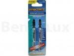 ПРАКТИКА 038-722 Пилки для лобзика универсальные тип T123X Прогрессор 100 х 75 мм, грубый рез, HSS (